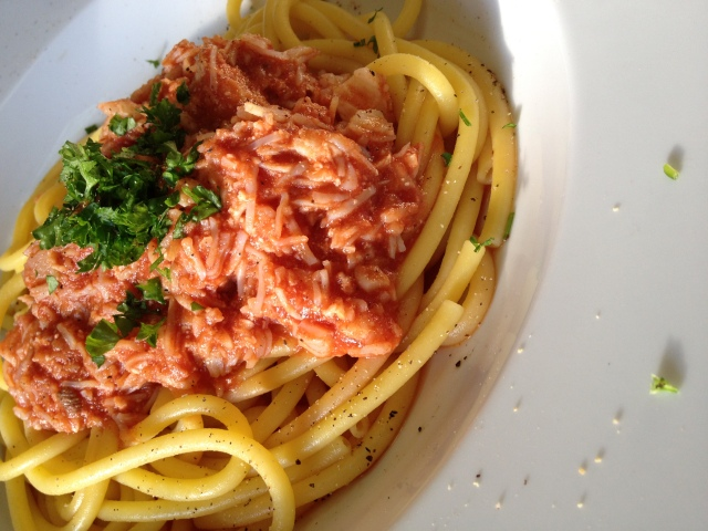 Serve In A Warm Dish - Sprinkle With Parsley Or Basil